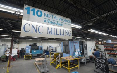 Freshly Installed: A New HMC for 110 Metalworks, Liverpool, NY