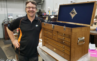 5 Winners of a custom Gerstner Handcrafted Tool Chest